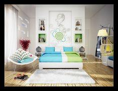 thiet ke phong ngu nho 01 Thiết kế nội thất cho phòng ngủ nhỏ