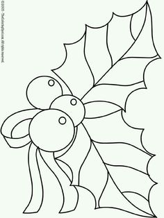 Christmas Holly 2 On Audio Stories For Kids Free Coloring Pages From Light Up Your Brain