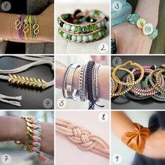 DIY Inspiration: Armbänder | A Cake A Day | Mein Foodblog