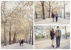 Cho & Enio's Central London Engagement Shoot | Kent Wedding Photographer – Rebecca Douglas Photography