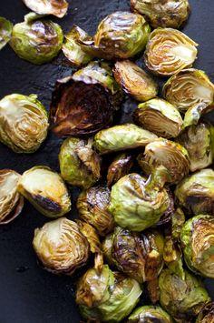 Crispy Lemon Roasted Brussels Sprouts