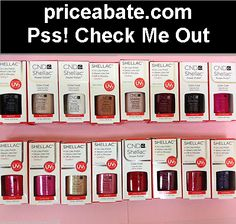 CND Shellac UV Gel Polish ALL COLORS .25 oz 7.3 ml GENUINE Part 1 - #priceabate! BUY IT NOW ONLY $11