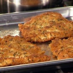 These are the best cutlets ever! Chicken Cutlets with Herbs Recipe : Rachael Ray : Recipes : Food Network Plats Weight Watchers, Weight Watcher Dinners, Weight Watchers Chicken, Herb Recipes, Ww Recipes, Cooking Recipes, Healthy Recipes, Cooking Games, Quick Recipes
