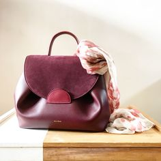 Burgundy leather bag from Polène-Paris Burgundy leather bag from Polène-Paris . Cute Handbags, Cheap Handbags, Purses And Handbags, Luxury Handbags, Leather Purses, Leather Handbags, Leather Backpack, Leather Bag, Polene Paris