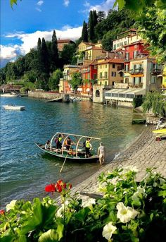 Have you ever been to Varenna? Use to share your photos from the region and look for travel inspiration for your next vacation! Beach Honeymoon Destinations, Dream Vacations, Comer See, Lake Como Italy, Voyage Europe, Beautiful Places To Travel, Romantic Travel, Travel Around The World, Italy Travel