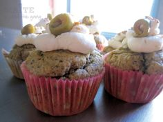 Cupcake salées à la tapenade Kiri, Homemade Food, C'est Bon, Cheesecake, Cupcakes, Breakfast, Desserts, Recipes, Savory Muffins