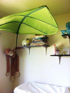N & IKEA LOVA Leaf Childrens Kids Bed Canopy Tent kids bedding ...
