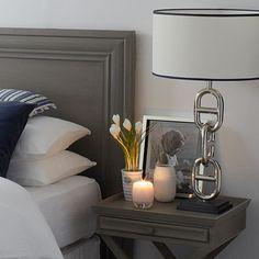 Afbeeldingsresultaat voor eichholtz yacht home accessories Gray Interior, Luxury Interior, Interior Design, Bedroom Styles, Luxurious Bedrooms, My Room, Contemporary Design, Home Accessories, Table Lamp