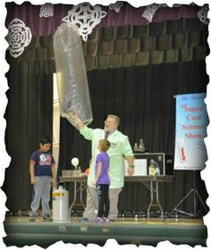 Dennis Regling http://super-cool-science.weebly.com/ School Science Assembly Shows for Ohio, Kentucky, Pennsylvania, Virginia, Maryland, Illinois, Indiana, New jersey and beyond