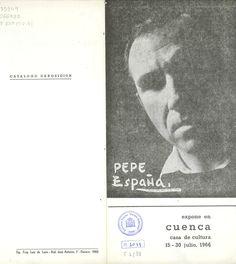 Exposición de Pepe España en la Casa de Cultura de Cuenca en Julio 1966