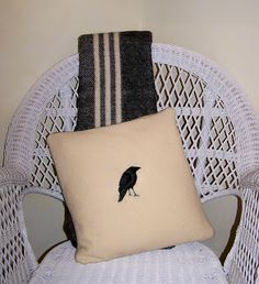 A small shop with pillows,wall hangings and framed art made from recycled woolen sweaters and blankets as well as nature-inspired linocut prints. Linocut Prints, Wool Blanket, Raven, Framed Art, Recycling, Throw Pillows, Inspiration, Design, Fleece Blanket Edging