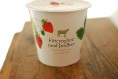 Knuthenland, an organic farm in Denmark Yogurt Packaging, Dairy Packaging, Organic Farming, Packaging Design, Branding, Yum Yum, Denmark, Tableware, Lp