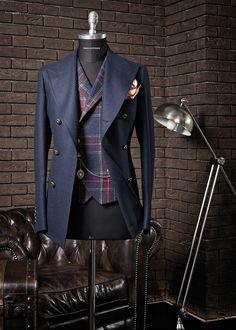 Menswear — Tagliatore - F/W 2014-2015 Source: tremezzo.jp
