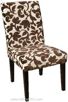 Floral Parson Chair - like this very much