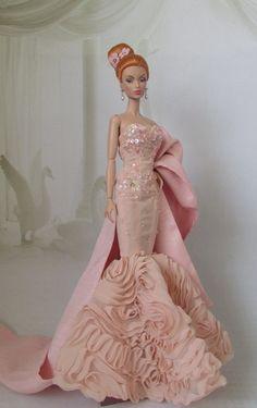 """Victoire Roux """"Sous Les Tropiques"""" \ dress Silkstone Mermaid Gown"""