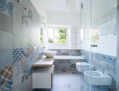 bagno ospiti: Bagno in stile in stile Minimalista di stefania eugeni