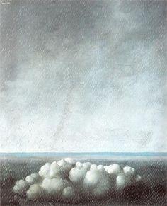 Le Chant de l'Orage, 1937 ~ Rene Magritte