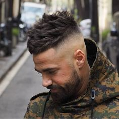 Looking for a new way to show off your facial hair this year? We're giving you the ultimate guide to beard styles and facial hair types for you to try now. Stylish Haircuts, Cool Haircuts, Hairstyles Haircuts, Haircuts For Men, Cool Hairstyles, Hipster Haircut, Hipster Hairstyles, Hair And Beard Styles, Short Hair Styles