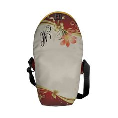 Monogram Lily   Mini Zero Messenger Bag