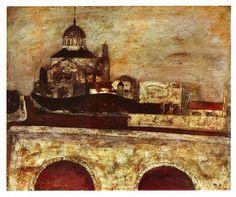 ニコライ堂と聖橋 1941年