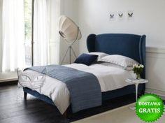 Łóżko Frou Frou stylizowane, wysokie wezgłowie materac 14 200 - Styl glamour - Style | sklep internetowy Black Cat Design