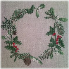 """Anyutkin room: Wreaths from Acufactum """"December"""" and """"January"""""""