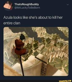 Azula looks like she's about to kill her entire clan - iFunny :) Avatar Airbender, Avatar Aang, Avatar The Last Airbender Funny, The Last Avatar, Avatar Funny, Team Avatar, Atla Memes, Funny Naruto Memes, Zuko