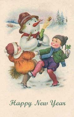 Christmas ephemera on pinterest vintage santas - Vintage Cards