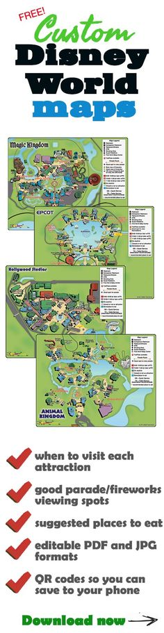 Free Disney World Maps