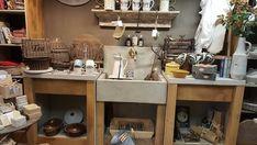 kitchen ideas – New Ideas Antique Decor, Double Vanity, Kitchen Island, Home Decor, Kitchen Ideas, Decor Ideas, Crafts, House, Old Fashioned Decor