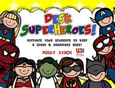 Desk+Superheroes+fro
