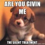 The Narcissistic Silent Treatment Silent Treatment Appreciation – Part 2 (of 3-Pt Series)