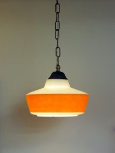 retro glass lamp