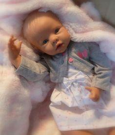 Beautiful Reborn Baby Girl Krista by Linda Murray..Retired Kit Now Baby Girl Teagan