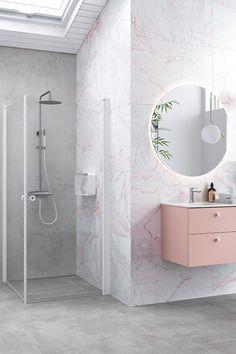 Alcove, Bathtub, Layout, Bathroom, House, Profile, Mirrors, Standing Bath, Washroom