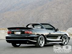 1996 Saleen Mustang Convertible Right Rear Photo Sn95 Mustang, Saleen Mustang, Fox Body Mustang, Vintage Mustang, Ford Mustang Convertible, Pony Car, Sweet Cars, Car Ford, My Ride
