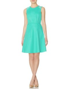 Colorful Eyelet Yoke Dress from THELIMITED.com