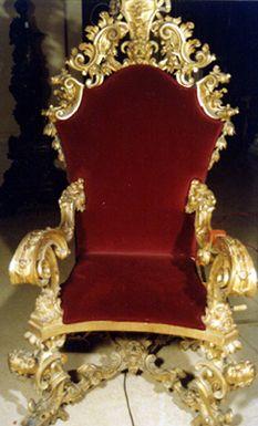 Stanislas August Of Poland Throne Chair 1764 Royal