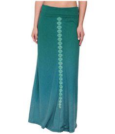 Prana Benita Skirt Sea Green  Color bottoms