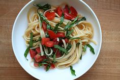 Tomato Pasta by Lottie + Doof as adapted from Michael Ruhlmam #Pasta #Tomato