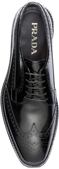 Every man must process one pair of Brogues and Prada make the choice easy