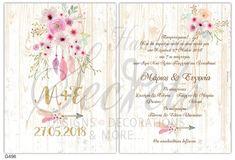 9cd1f82e2c85 Οι 147 καλύτερες εικόνες του πίνακα Προσκλητήρια γάμου