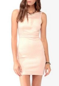 Forever 21 Metallic Dotted Bodycon Dress $19.80