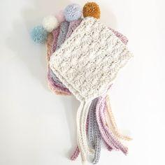 Thread the Love Pixie Pom Bonnet Materials needed : 1 x ball of Drops Paris 100% cotton Aran 50g 4.5mm crochet hook Yarn needle Scissors Pom-Pom maker Acrylic yarn DK – enough for a pom-pom F…
