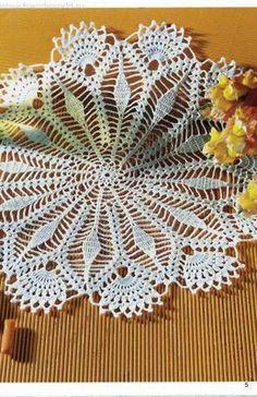 World crochet: Napkin 191