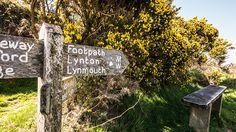 Creative Walks: Lynton. Lynmouth. Devon.