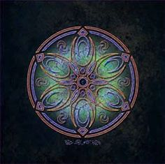 Tranquility Arcturian Geometry by John Paul Polk
