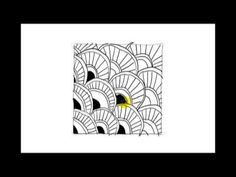 http://zenpopper.com   Learn how to draw all Zentangle patterns with short step by step video tutorials for beginners. Use the Zenpopper Practice Machine @ze...
