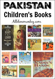 Learn more about Pakistan with these picture books, which range from vignettes of everyday life to thoughtful pieces on child labor, refugees, and Malala.