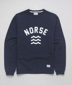 norse, m i n i m a l, college font, waves , colour scheme